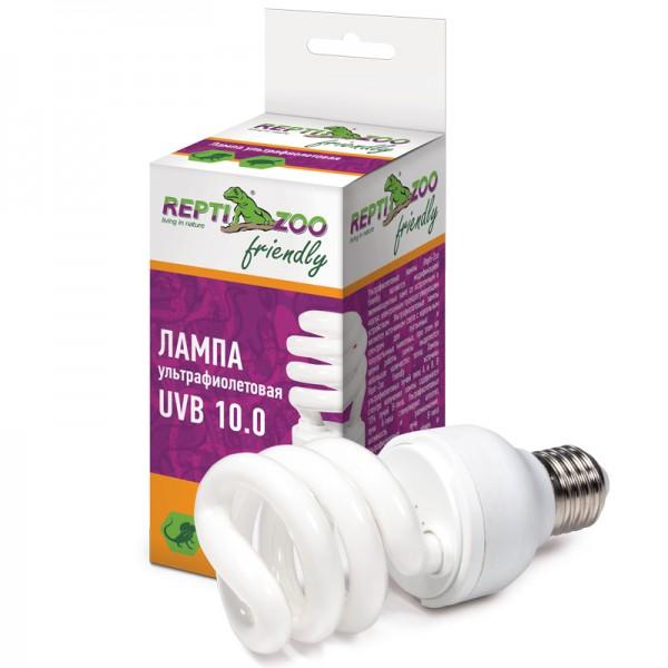 Лампа УФ UVB 10.0 20Вт, Repti-Zoo Friendly