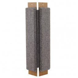 Когтеточка из ковролина №1 угловая, 200*60*530мм