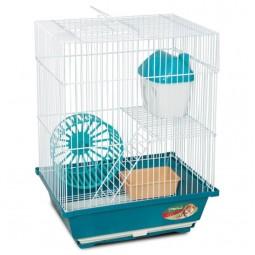 Клетка 2103 для мелких животных, эмаль, 300*230*390мм
