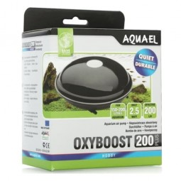 AQUAEL Компрессор AQUAEL OXYBOOST 200 plus, 2.5w,2х100л/ч., до 200 литров