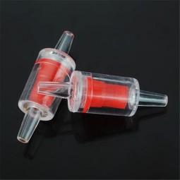 Обратный клапан красный, d4мм для аквариума