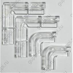 Комплект креплений для покровного стекла аквариумов Dennerle NanoCube 5мм, 4шт