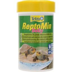 ReptoMin Baby 100мл - корм в гранулах для молоди водных черепах