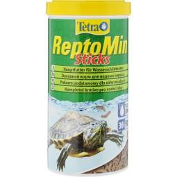 Tetra ReptoMin Sticks Основной витаминизированный корм для водяных черепах,в виде палочек 1 л